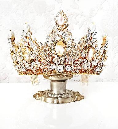 Корона Мисс малая с жемчугом