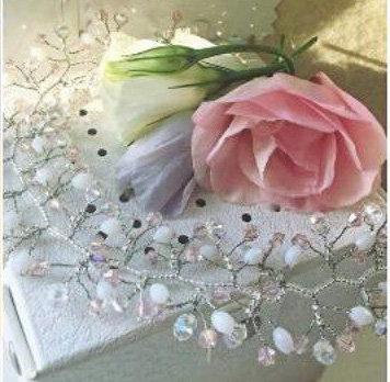 Элемент в свадебную причестку