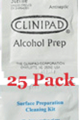 Surface Prep & Cleaning Pads - 25 pak