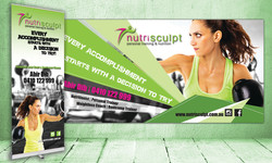 Nutrisculpt Roller and Wall Banners