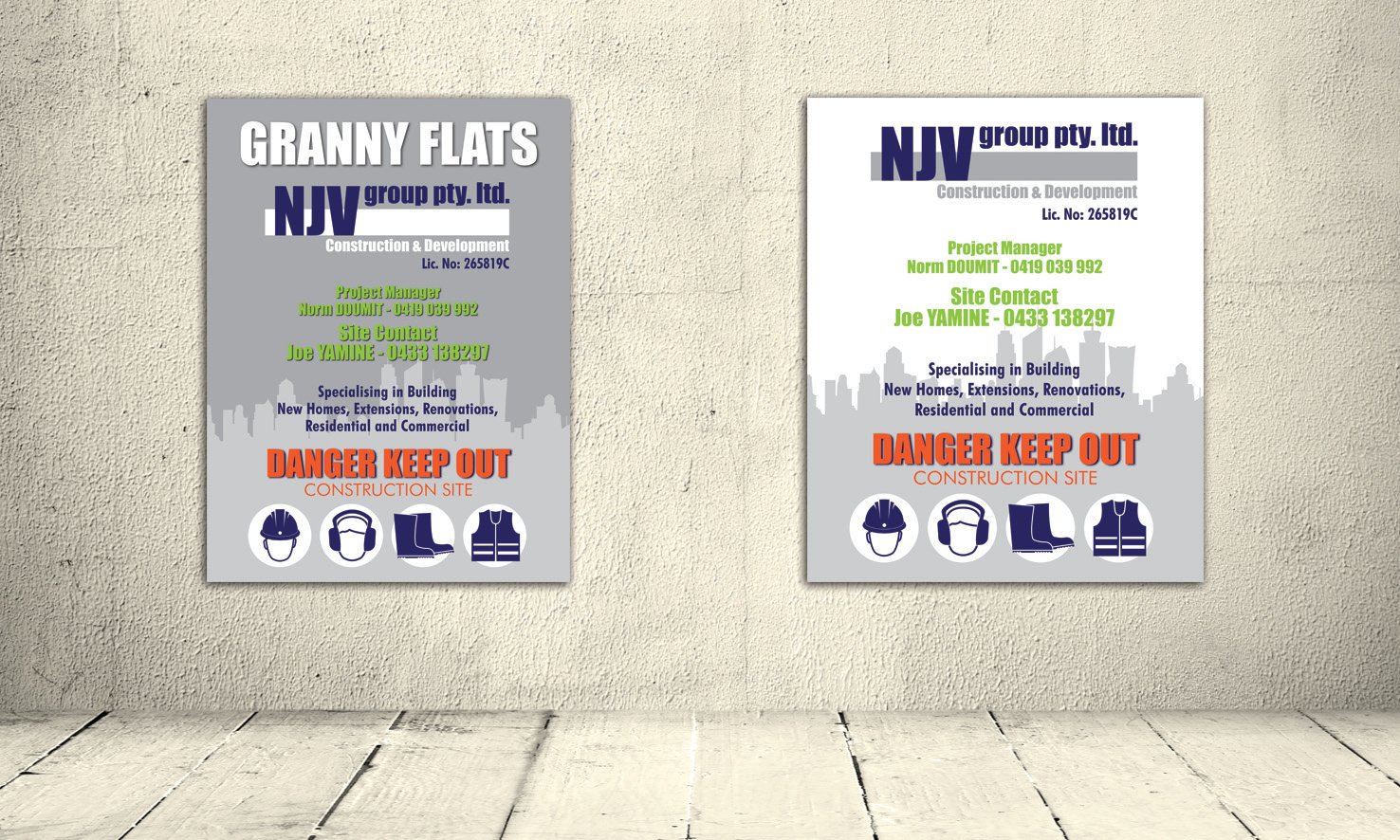 NJV Group Banners and Signs