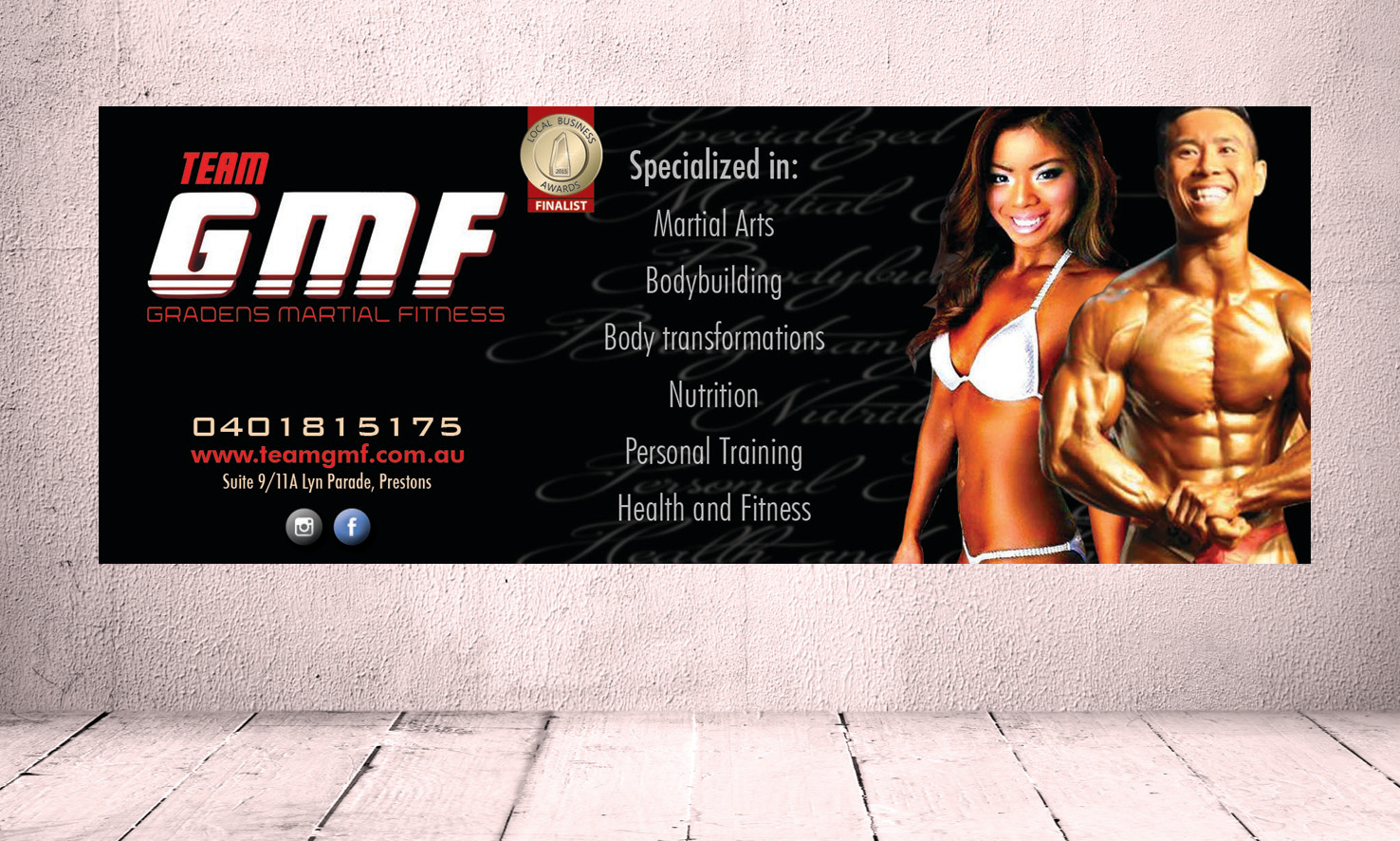 Team GMF Fitness Banner
