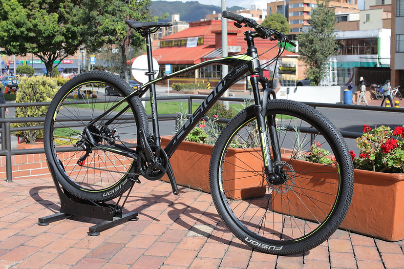 Bicicleta FUSION- Verde