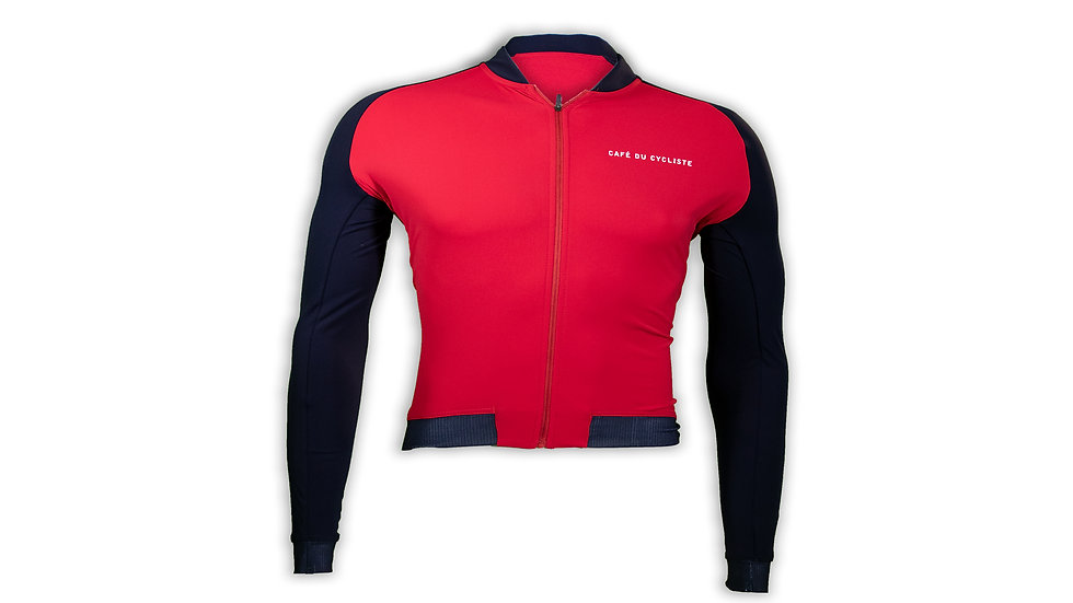 CAFE DC Jersey ML DAPHNE NAVY RED