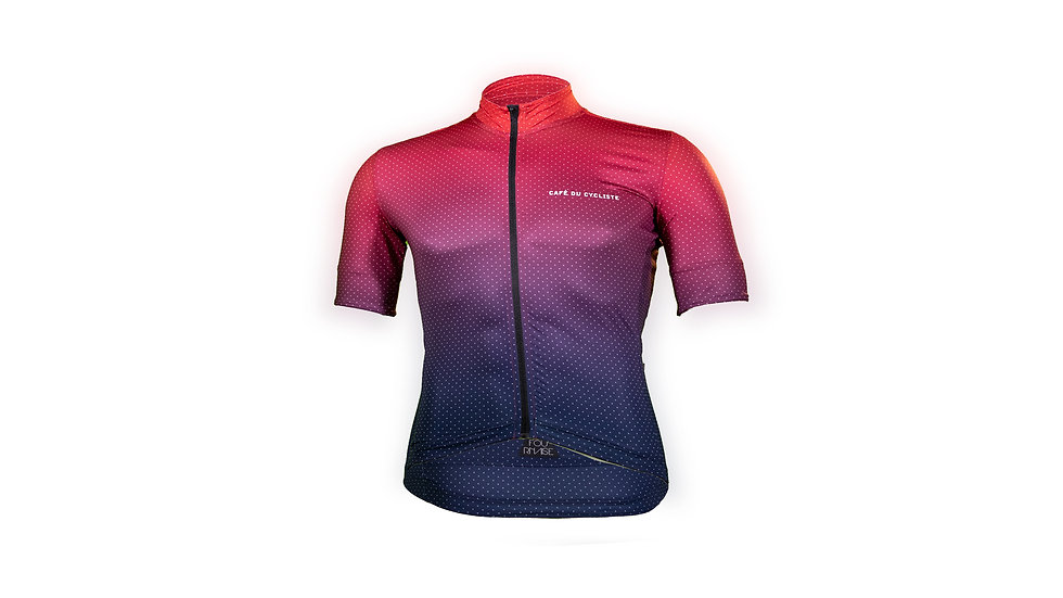CAFE DC Jersey  MC FLEURETTE RED NAVY