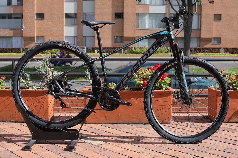 Bicicleta FUSION- Celeste