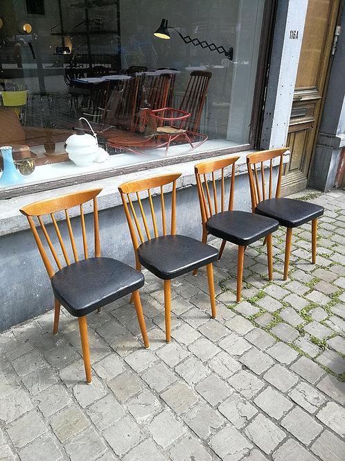 Set de chaises années 50