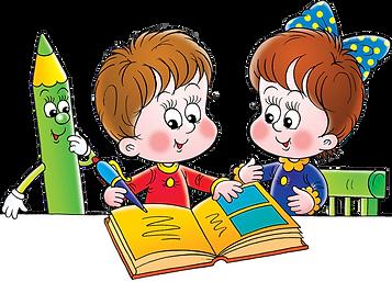 206-2069734_дети-читают-клипарт-отрисовк
