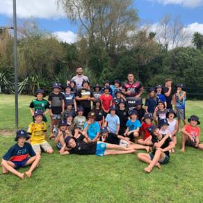 Kumeu Junior Rugby goes back to School!