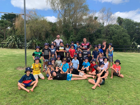 Kumeu Junior Rugby goes back to School!