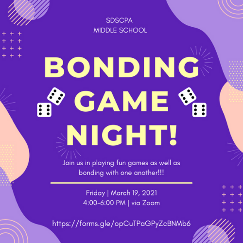 Middle School Bonding Night