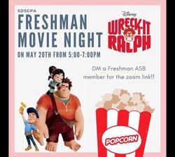 Freshman Movie Night