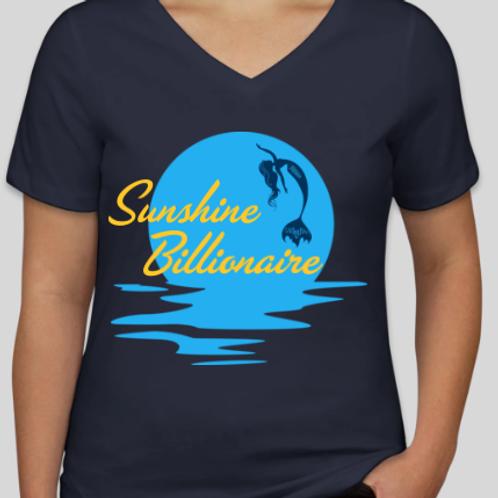 Mermaid Sunshine Billionaire Women's T Shirt