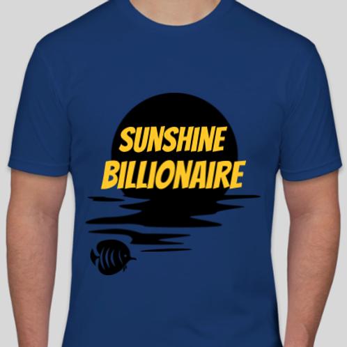 Sunset Sunshine Billionaire Men's T Shirt