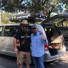 A fun day hanging with Premier South Florida Marine Life Artist Dennis Friel