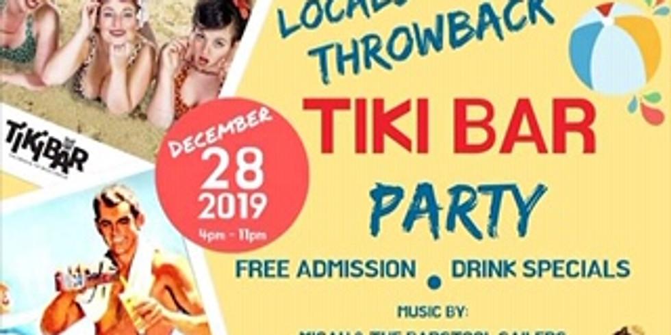 Locals Throwback Tiki Bar Party