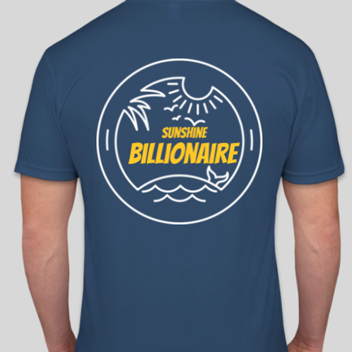 Tropical Sunshine Billionaire Men's T Shirt