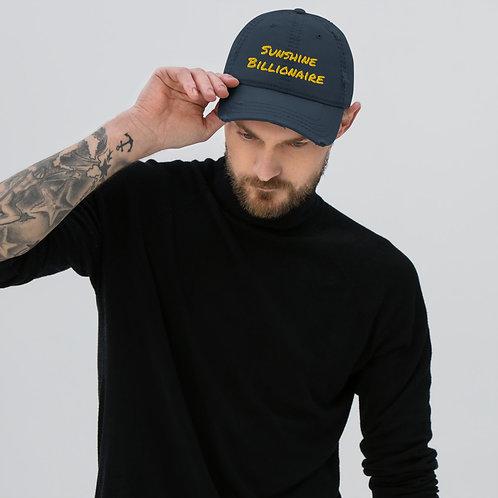 Sunshine Billionaire Distressed Hat