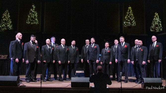 Music in the Chapel: Twin Cities Gay Men's Chorus Chamber Singers