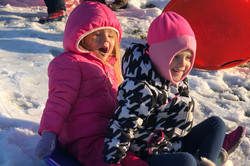 Sledding with a Friend