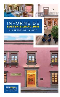 INFORME DE SOSTENIBILIDAD: HOTELES CITY EXPRESS 2020
