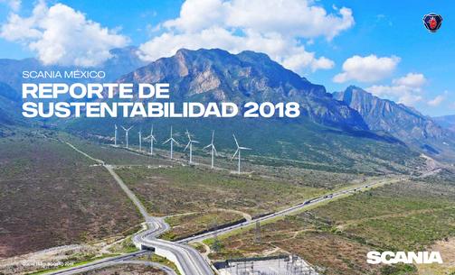 REPORTE DE SOSTENIBILIDAD: SCANIA 2019