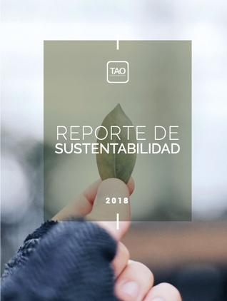 REPORTE DE SUSTENTABILIDAD: TAO 2019