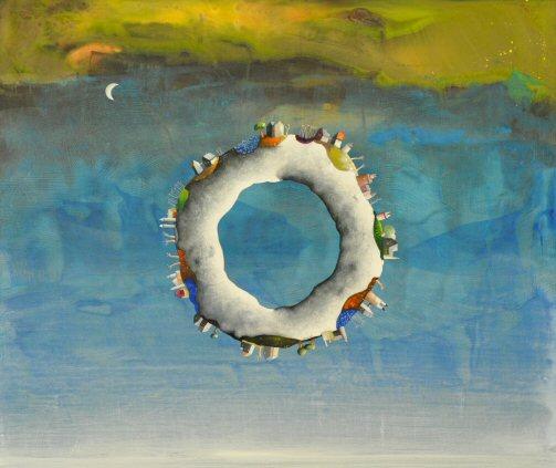 UN  MONDO  MAGICO   acrilico e olio su tela  50x60.jpg