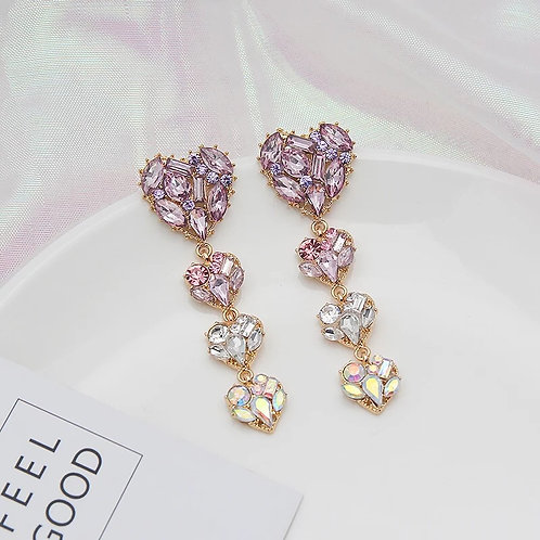 Mira Earrings Pink