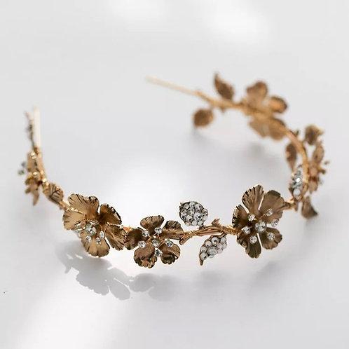 Mara Headband/Tiara Gold