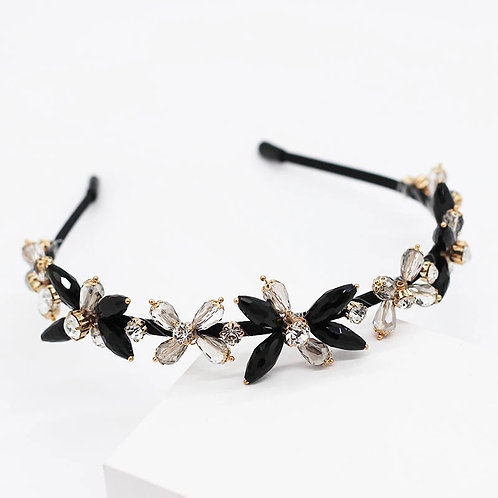 Mina Headband Black