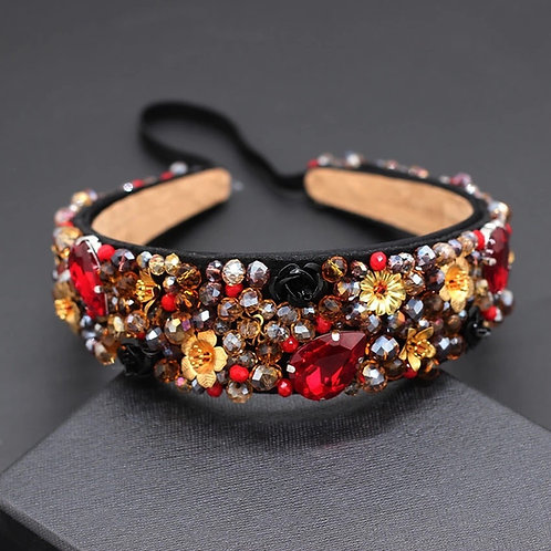 Miya Headband Red