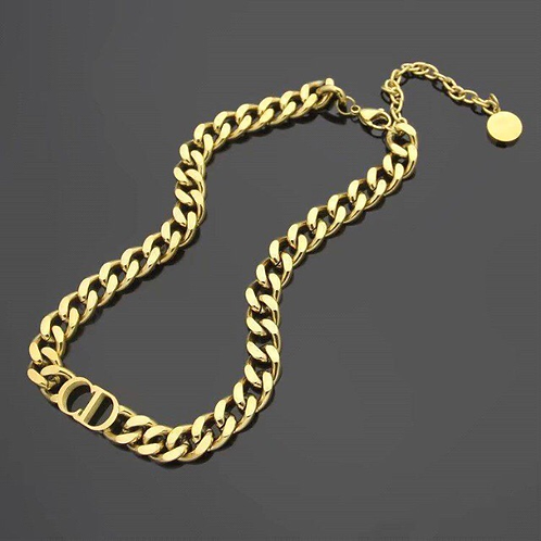 CD Necklace Gold