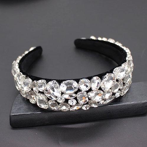 Tiarlia Headband Black/Silver