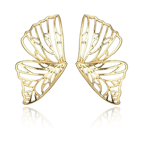 Hollow Butterfly Earring Gold