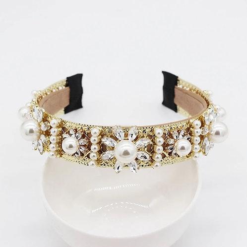 Sarina Headband Gold