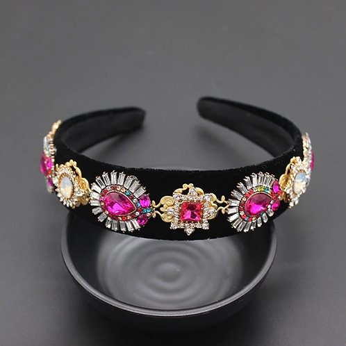 Chloe Headband Hot Pink