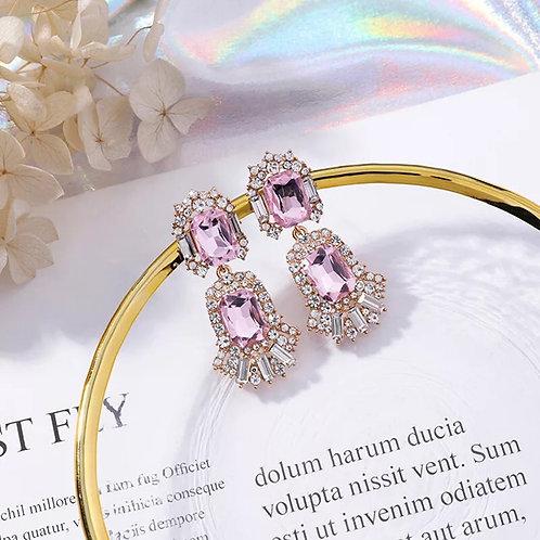 Tanya Earrings Pink