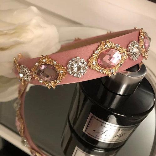 Misha Headband Pink