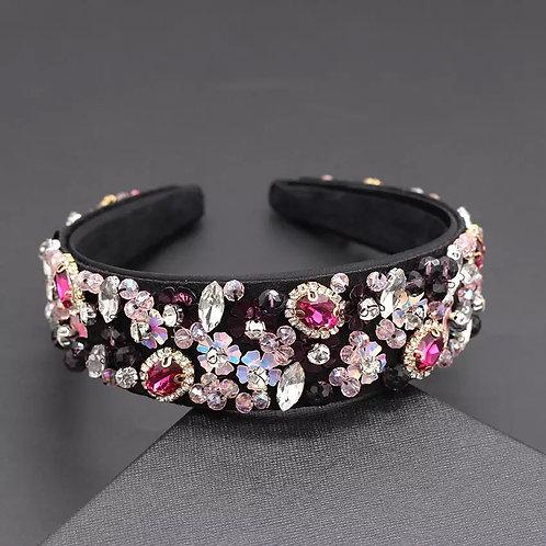 Laya Headband Dark Pink