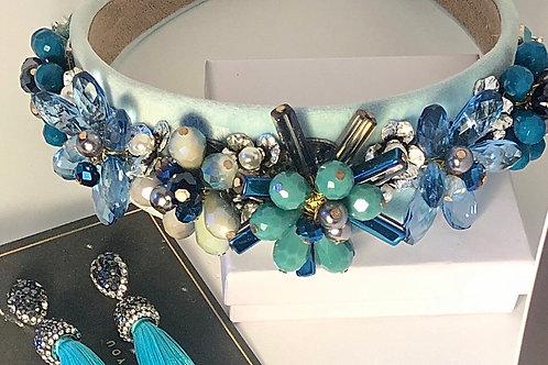 Aqua Headband Set