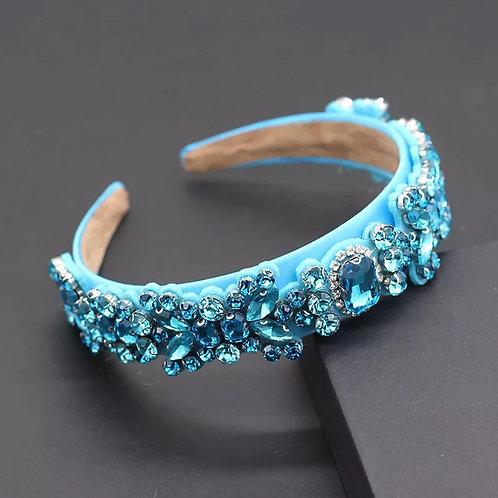Summer Headband Blue