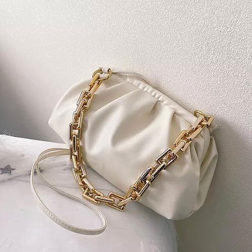 Chain Bag Cream