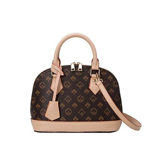 Shell Handbag Brown