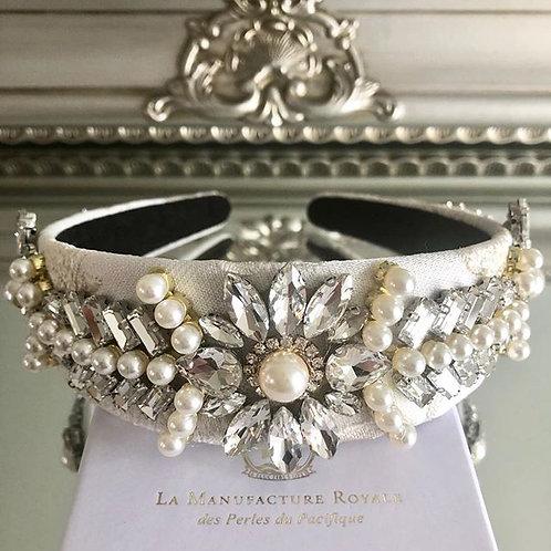 Vienna Headband White