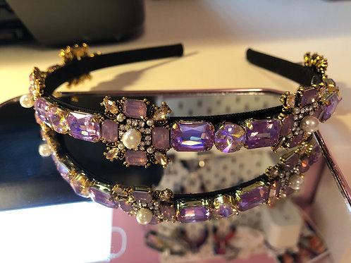 Holly Headband Purple
