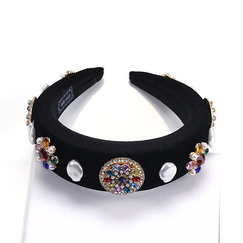 Candy Headband Black