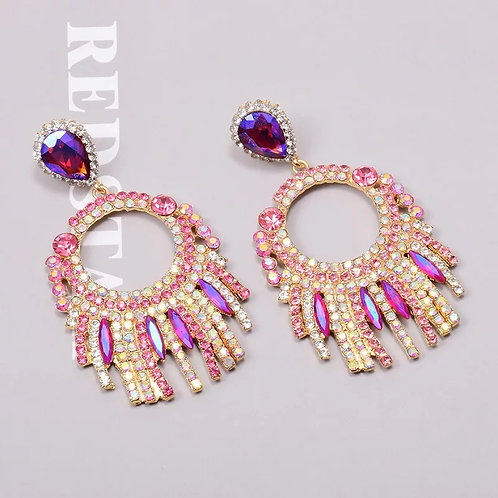 Christy Earrings Pink