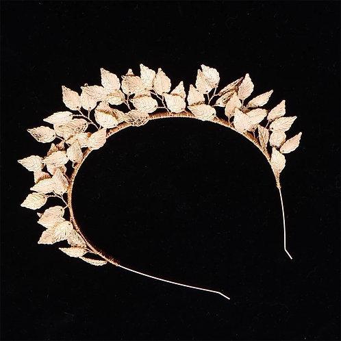 Tara Headband/Tiara Gold
