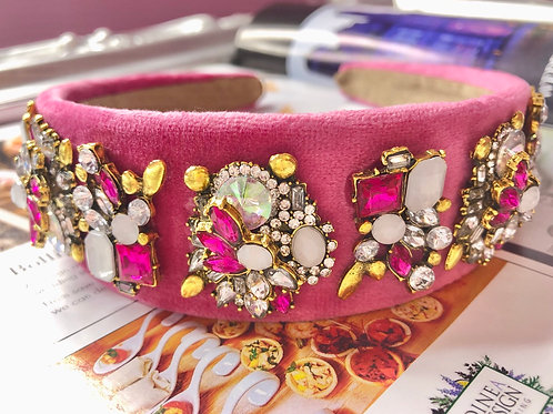Stella Headband Pink